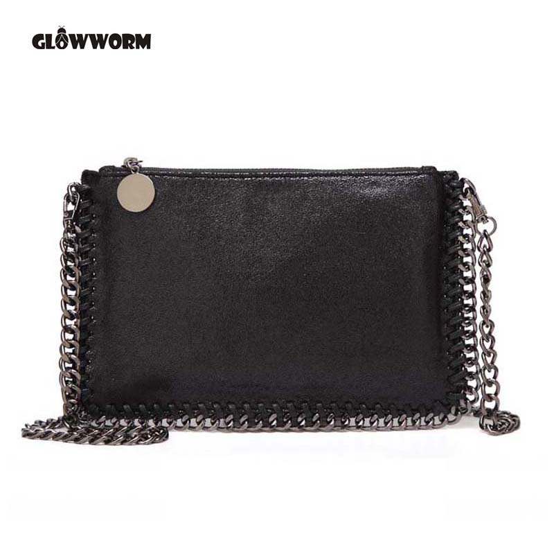 GLOWWORM Brand Crossbody Bags Mini PU Leather Female Shoulder Bag High Quality Luxury Chain Ladies Women Messenger Bag