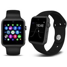 Smartwatch Magie Knopf Für IOS Android Smartphone Reloj Bluetooth Kamera Montre Connecte Telefon Unterstützung Sim-karte DM09