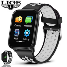 Sport Smart Bracelet IP67 Waterproof Watch Blood Pressure Heart Rate Monitor HD full screen touch screen Watches For Android ios men smart watch fashion sport touch screen watches chronograph digital wristwatches blood pressure heart rate monitor calorie