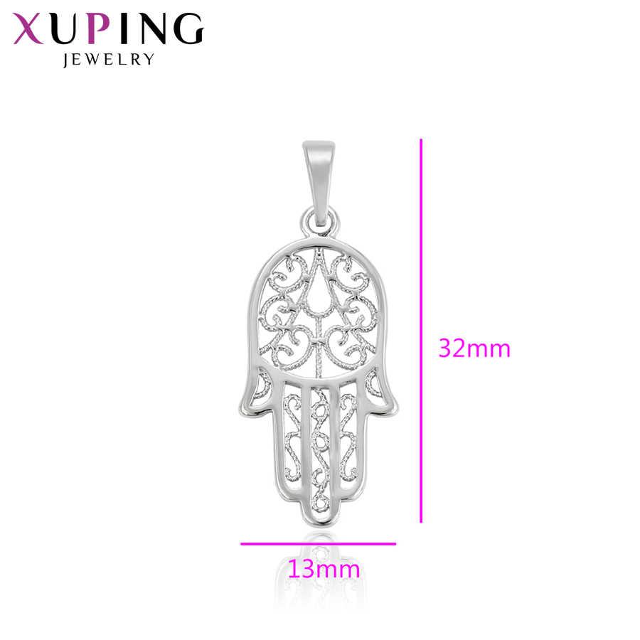Xuping エレガントな人気のデザイン気質ネックレスペンダント女性女の子高品質パーティージュエリークリスマスギフト S73 、 6-33231