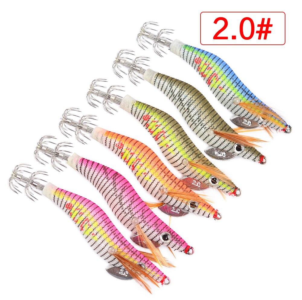 Hiumi 6 шт. Блесен Рыбалка Приманка экспортируется в США Рынок Рыбалка снасти 6 цветов 5.5 г-21.56 г, 8 см-15 см, 2.0 # -- 4.0 # крюк