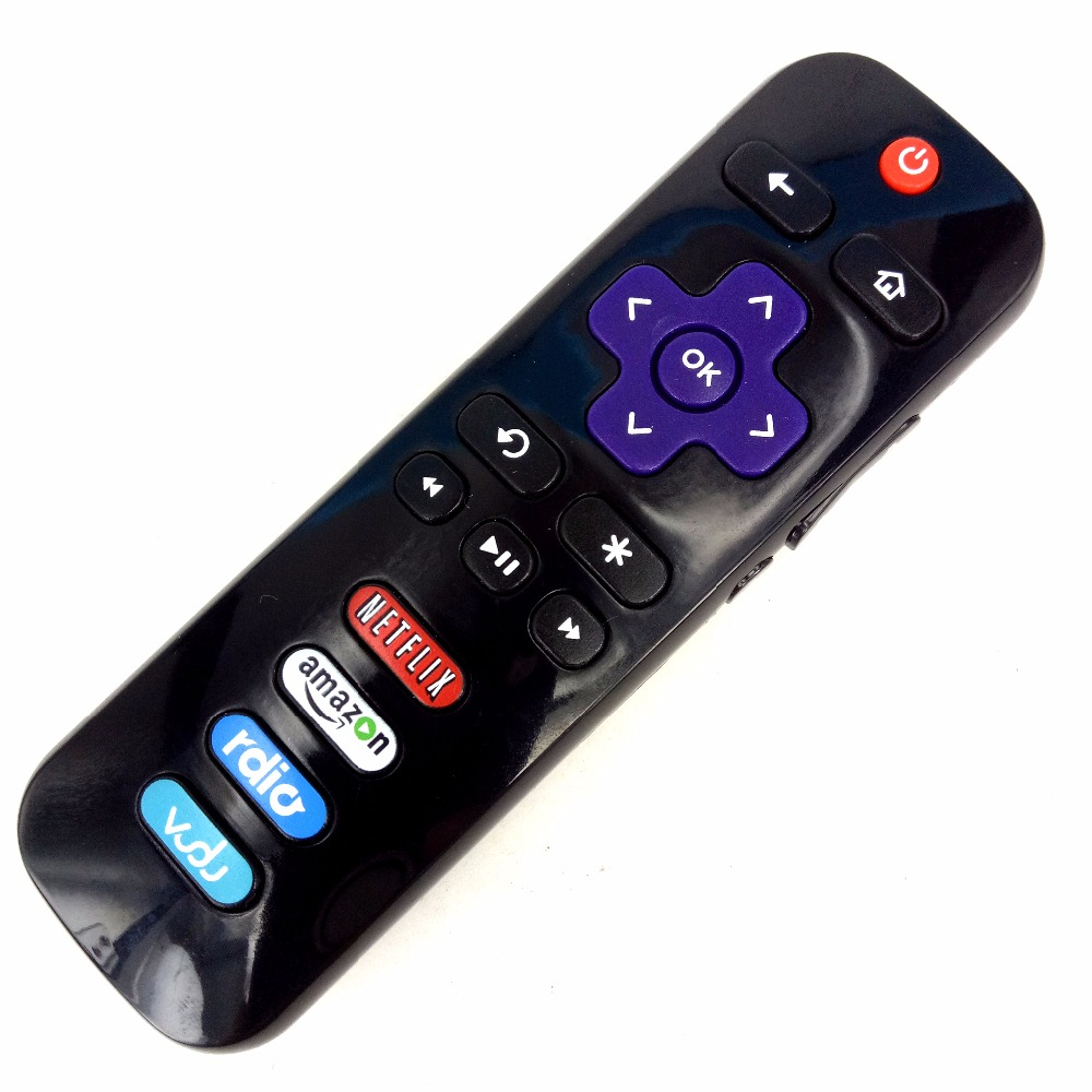 (2pcs/lot)NEW remote control For TCL ROKU LED HDTV RC280 For Netflix amazon rdio 06IRPT20A TV image