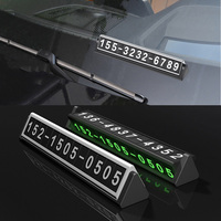 Car Styling Phone Number Card For Mitsubishi Asx Outlander 3 Lancer 10 9 Pajero Sport 4