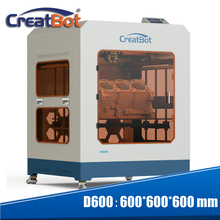 Newest Technology super large 3d printer high stable high precision 3d Printing E3DV6 400 degree extruder D600