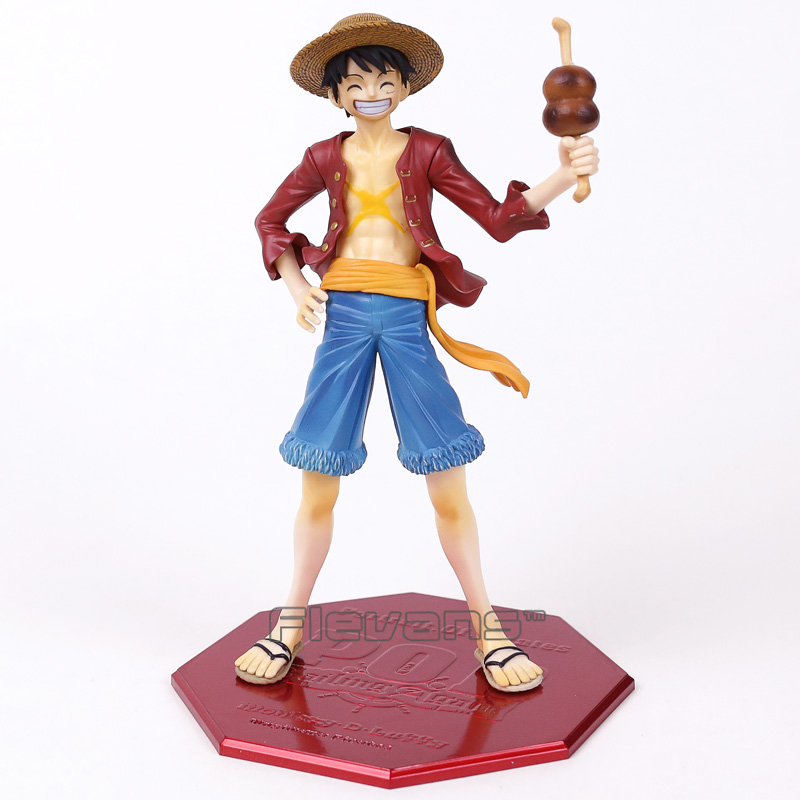 Anime One Piece Monkey D Luffy Ver. 20th POP Limited Edition PVC Figure Collectible Model Toy 23cm rebecca one piece anime pop pvc action figure collectible model toy 22cm