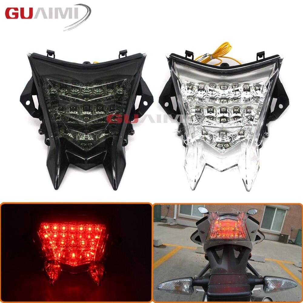 Pour BMW S1000R HP4 S1000RR 2010-2016 11 12 13 14 15 Intégré à Moto feu arrière LED clignotant Clignotant Lampe