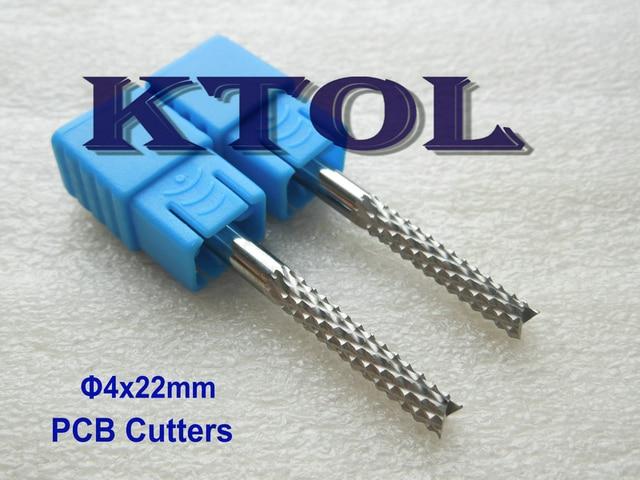 10pcs 4x22mm PCB Tools, Wood Cutting Bits Drill Milling Cutter for ...