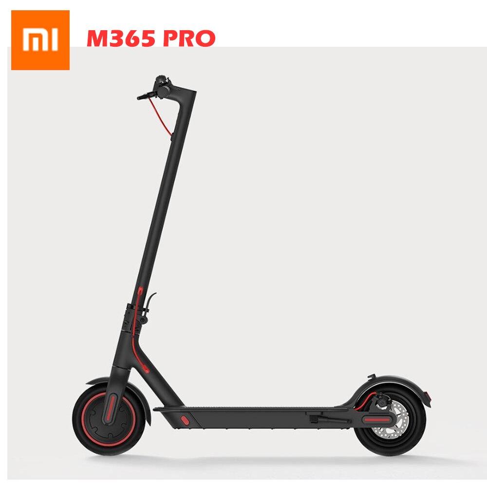 [International Version] Xiaomi Norma Mijia M365 Pro Pieghevole Scooter Elettrico 300 W Motore 3 Modalità di Velocità 8.5 Pollici Pneumatici 45 KM di distanza in Miglia di Gamma
