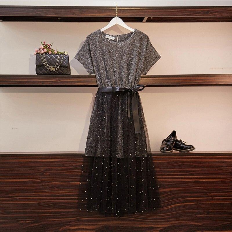 2020 Women Shirt Top + Mesh Mini Skirt Suit Summer Elegant Women 2 Piece Set