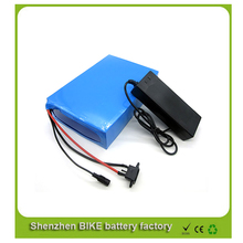 ebike lithium battery 48v 25ah lithium ion bicycle 48v electric scooter battery for kit electric bike 1000w with BMS , Charger