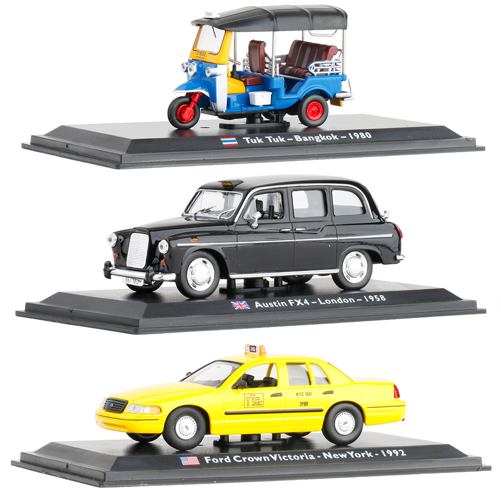 Buy Scale 143 Allloy Retro Taxi Collection Model 1980 Ford Crown Victoria Cars Worlds Renault Fiat Classic Taxiwholesale Free Shipping From Reliable