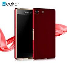 Песочного цвета Жесткий Пластиковый корпус 5.0For Sony Xperia M5 чехол для Sony Xperia M5 двойной сотового телефона чехол