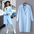 Trench Coat For Women Casacos Femininos Trench Coat Dj-75 And The Wind Are Pure Color Long Suit Collar Windbreaker