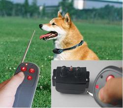 Multi-function Dog Trainer 4 in 1 Pet Control Stop Bark Electric Remote Shock Vibration Anti Bark dog Training Collar