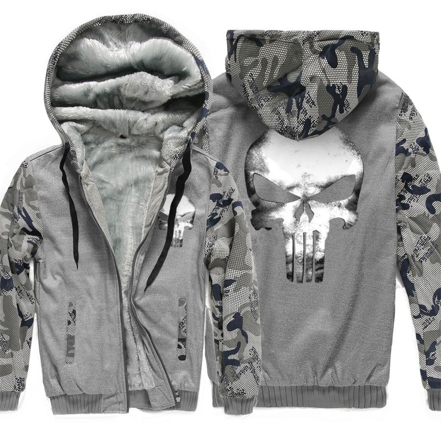 harajuku Hooded fleece thicken Coat men fitness wool liner Winter Warm Hoodies 2019 fashion Thicken Zipper Jacket Sweatshirts pp in Hoodies amp Sweatshirts from Men 39 s Clothing