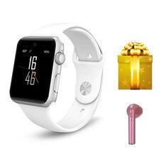 Умные часы + Bluetooth наушники/набор Смарт-часы для Apple часы для xiaomi умные часы VS IWO8 IWO5 reloj inteligente для ios