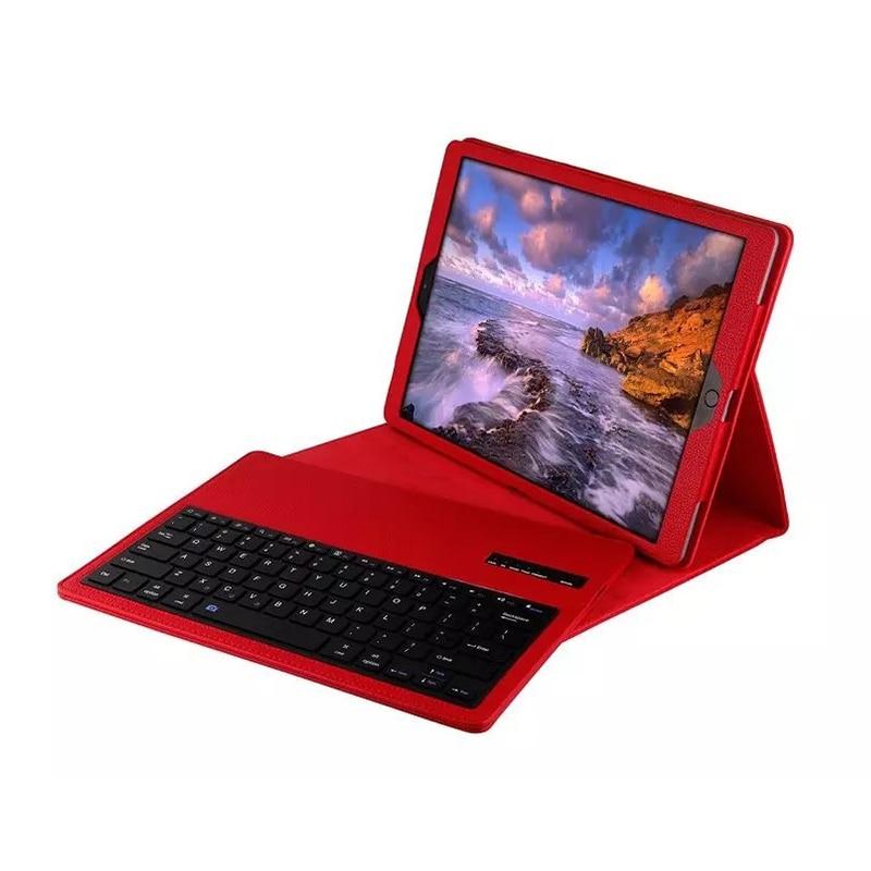 Для iPad Pro 12.9 корпус клавиатуры Магнитная Съемная Беспроводной клавиатура Bluetooth крышки фолио кожаный чехол для iPad 12.9 крышка