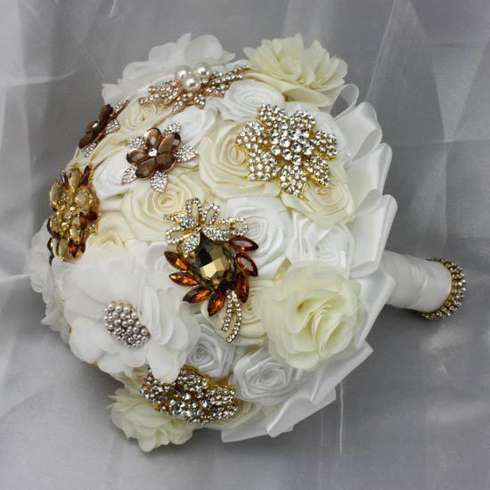 wholesale classic amorous feelings Vintage Fashion Brooches Crystal wedding bouquets/bridesmaid bouquet/bridal bouquet,Retail