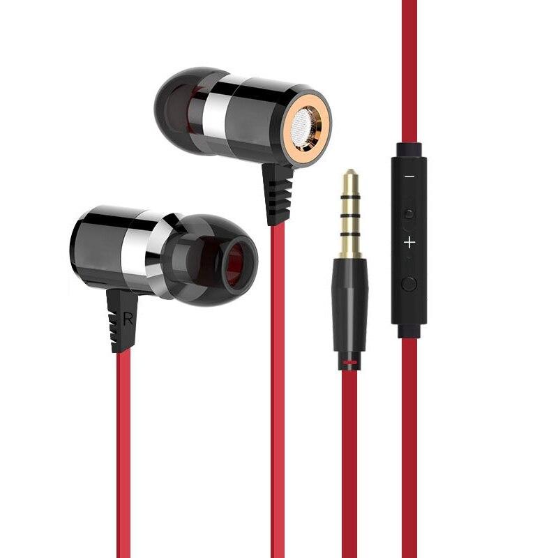 X6 HiFi DJ Bass En la Oreja los Auriculares con Micrófono para teléfono móvil un