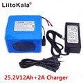 Liitokala 24 V 12ah 6S6P литиевая батарея 25 2 V 12ah литий-ионная батарея для батареи 350 W E мотоцикл 250 W двигатель wit