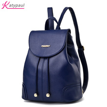Bolish НОВЫЙ туристический рюкзак Корейская женская рюкзак досуг студент школьный из мягкой искусственной кожи женская сумка Мода 2017 г. женские Mochila