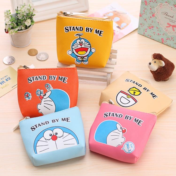 12PCS Cartoon Image Doraemon Bag For Kids Birthday Party Favor Baby Shower Souvenirs Return Gift