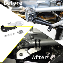For BMW R1250GS ADV R1200GS/ADV LC 2014-2019 Motorrad Side Stand Sidestand Switch Protector Guard Cover CNC Stainless Steel free shipping cnc sidestand side stand switch guard fit for bmw r1200gs adv 2014 water cooled
