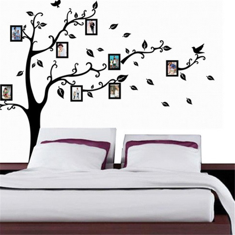 New Fashion Family Tree Wall Decal Remove Wall Stick Wall Stickers Memory  Tree Photo Frame Vinyl Wall Decals Free Shipping In Wall Stickers From Home  ...