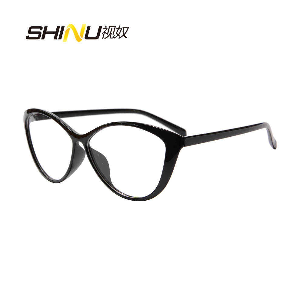 Cat Eye Women Eyewear AntiBlue Ray Photochromic Sunglasses Computer Goggle Outdoor Shade Transition Eyeglasses Chameleon Glasses