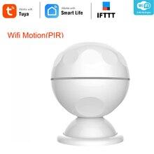 NEO COOLCAM sistema de alarma de casa con soporte magnético, Detector de movimiento PIR, WiFi, forma Mini