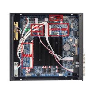Image 3 - Mini PC Windows 10 Celeron J1900 Mini Computer Dual Gigabit Ethernet 2x RS232 6x RS232 Ports