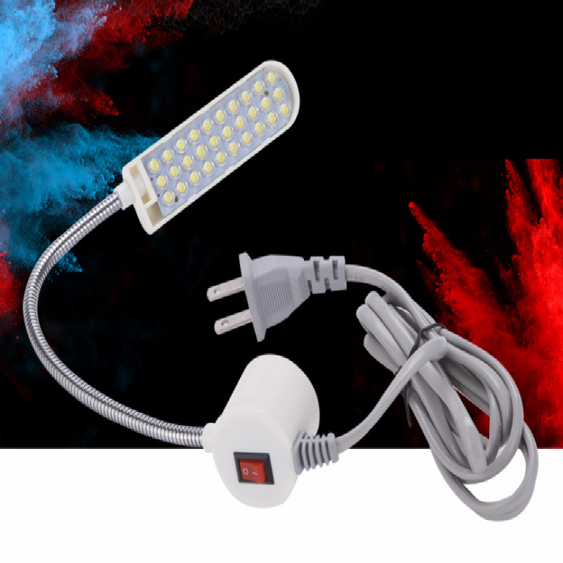 AC110v-240v 110v 220v 3W led lamp for sewing machine light garage workshop lights machines