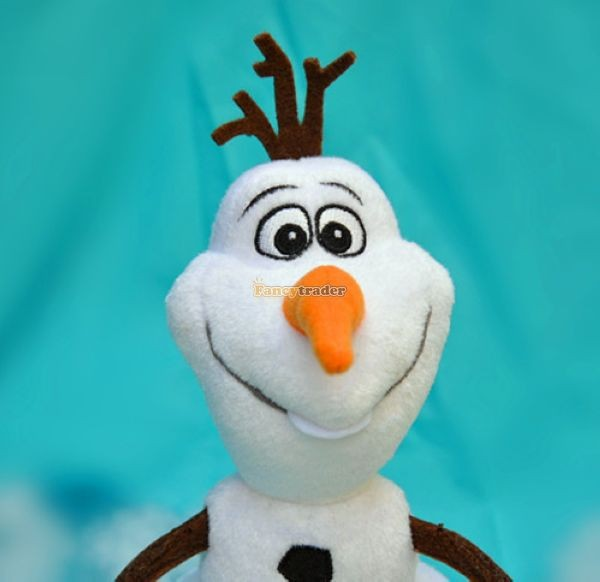 Fancytrader 2014 Top Selling 24\'\'60cm Jumbo Plush Frozen Olaf Snowman in Frozon Cartoon for Child Gift Free Shipping FT50024(2)