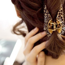 High Quality Women Lady Girls Leopard Hair Clip Claw Hair Accessory Clamp Headpiece 3 Size Trendy Hair Claws Hair Gripper M02199