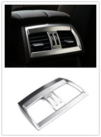 Car Styling!Interior Console Rear Air Vent Frame Cover Trim For BMW X5 F15 2014 2015