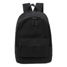 Hot Fashion Korea Style Backpack for Men and Women Preppy Style Soft Back Pack Unisex School Bags Big Capacity Canvas Travel Bag