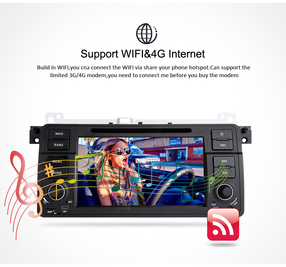 4G RAM 32G ROM 7 quot Android 9 0 Car Video DVD Player For BMW E46 M3 Series Radio Auto Player Stereo WIFI GPS Navigation Multimedia in Car Multimedia Player from Automobiles amp Motorcycles
