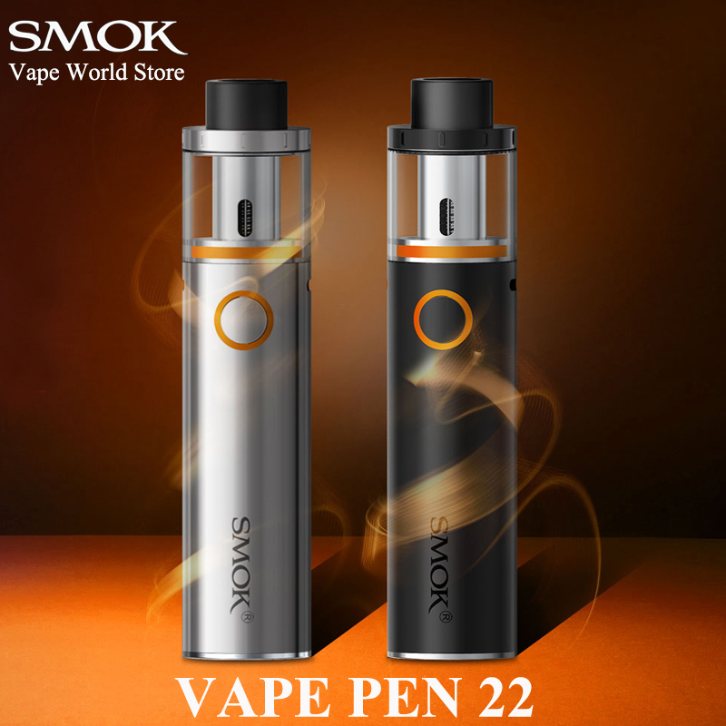 SMOK VAPE PEN 22 E Cigarette Hookah Pen Cigaret Vaporizer Elektronisk Cigaret VS Stick V8 Kit S085