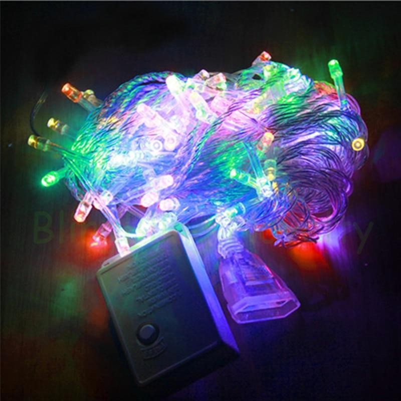 Božićna svjetla Unutarnja vanjska LED svjetla za žice 10M - Rasvjeta za odmor - Foto 2