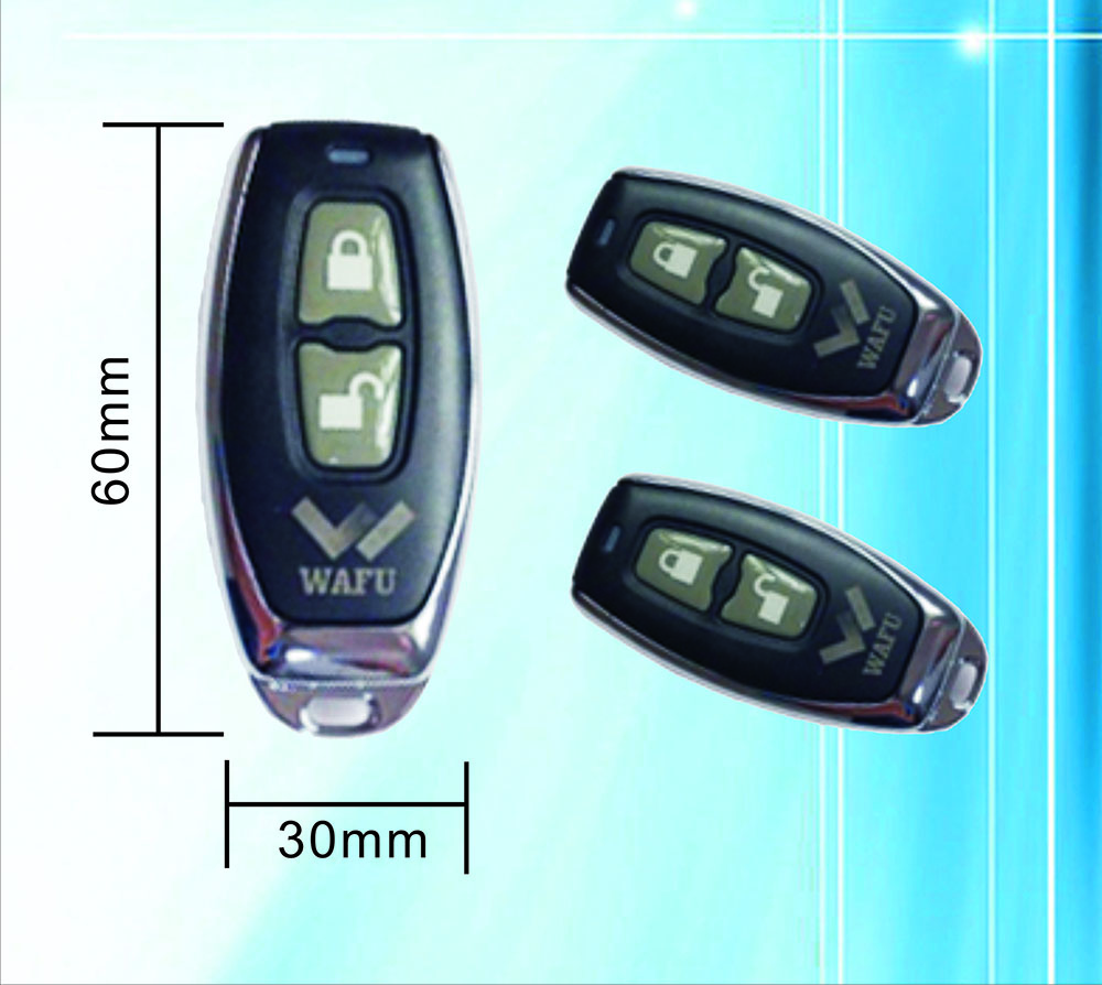 WAFU Remote Control 315 MHZ Frequency For WAFU Smart Lock Model WF-008(WF-018) Or For Other 315 Mhz Frequency Product