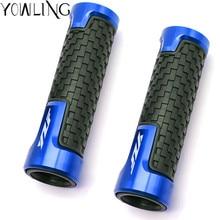 For YAMAHA YZF-R1 YZF-R6 YZF-R3 YZF-R25 YZF R1 R3 R6 R15 R25 600R Motorcycle handlebar grip handle bar Motorbike grips