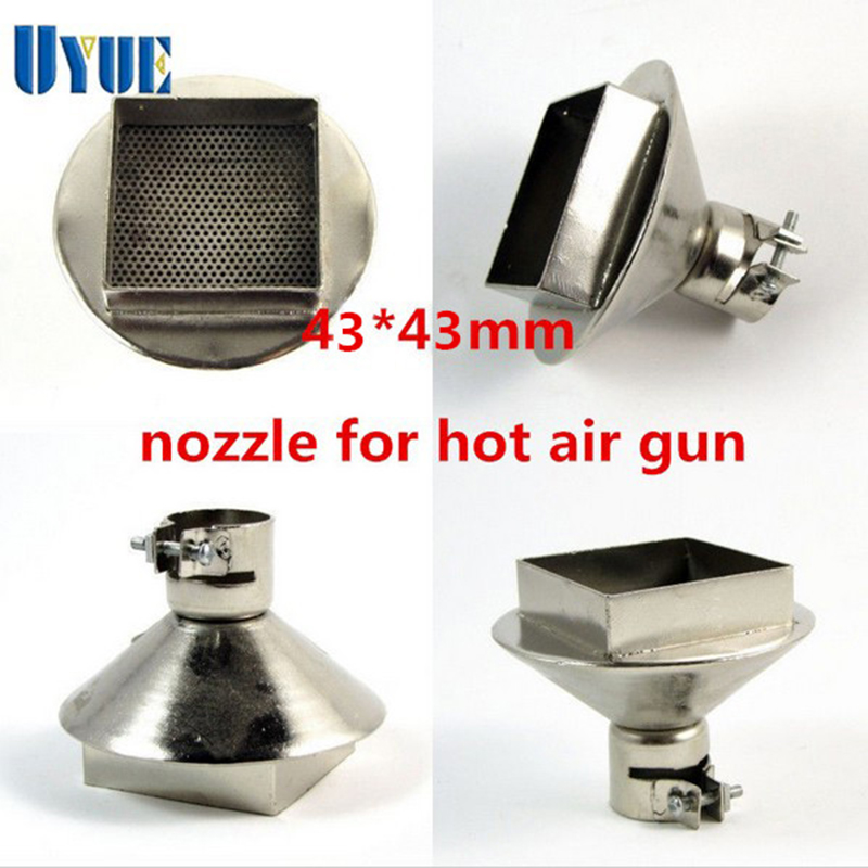 High Quality Hot Air Gun Nozzle 43*43mm Big 34mm Diameter Air Nozzle For 850 Welding Nozzle BGA Nozzle Desoldering Station replacement projector lamp for benq mp612 mp612c mp622 mp622c projectors