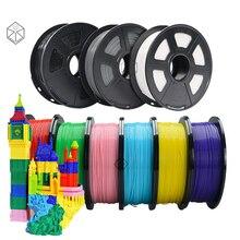 цена на SJLUHS 3D Printer PLA Filament 1.75mm Filament Top Quality 3D Pen DIY Plastic Wood Printing Filament Materials for RepRap 1KG
