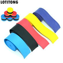 LOTITONG 10pcs Tennis Racket Anti-skid Sweat tape Absorbed Wraps Badminton Racquet Fishing Skidproof Sweat Band grip Fishing rod(China)