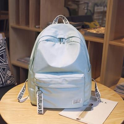 Schoolbag female student Korean campus backpack Korea fresh Mori girl simple travel backpack