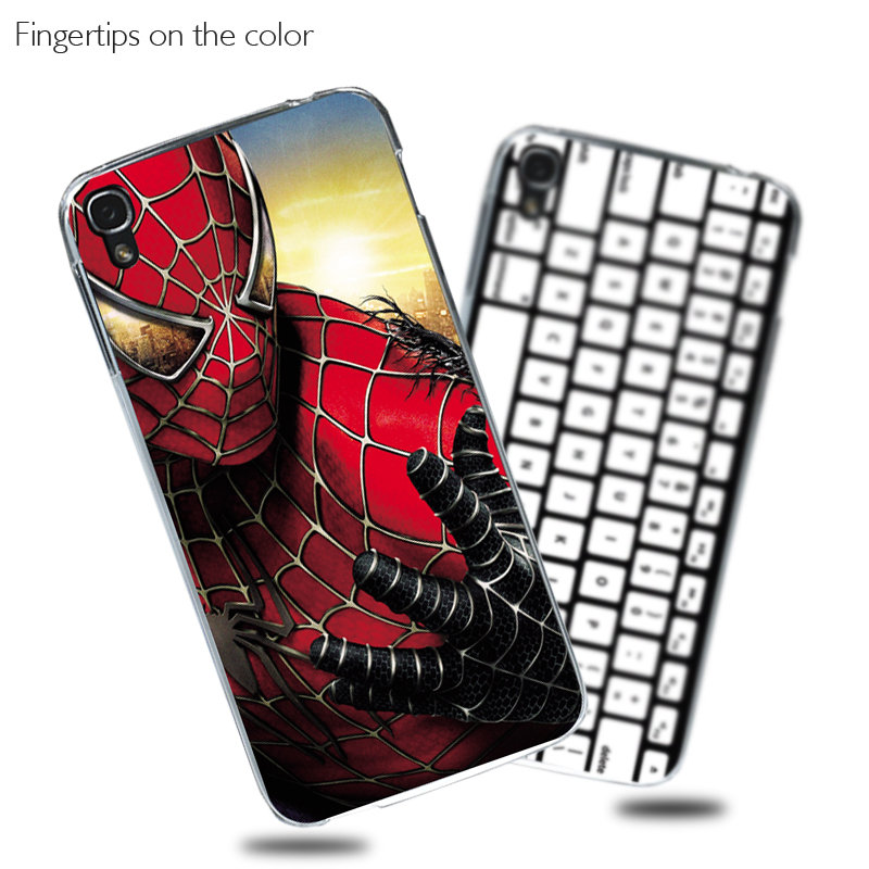 Cartoon UV Printed Skin Case For <font><b>Alcatel</b></font> <font><b>One</b></font> <font><b>Touch</b></font> <font><b>Idol</b></font> <font><b>3</b></font> 5.5 6045 <font><b>6045Y</b></font> 6045K Cover Hard Plastic Colorful Cartoon Painting Case image