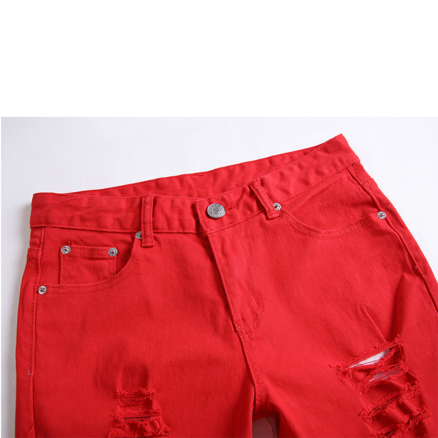 Чоботи чоловічі джинси тонкий прямий - Чоловічий одяг - фото 5