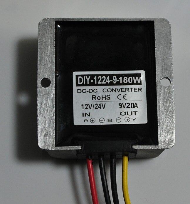 цена на DC 12V 24V 36V (11.5V-40V) Step Down 9V DC Converter Buck Module Car Power Converter Adapter Voltage Regulator Waterproof CE
