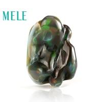 Наивысшее качество; Цвет Черный Натуральный опал неоправленных драгоценных камней для изготовления ювелирных изделий, редкие пылающего цв