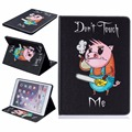 For Apple iPad Air 2 Case PU Leather Pretty Flip Folio Cute Cartoon Wallet Card Slots Full Body Protective Cover Funda capa